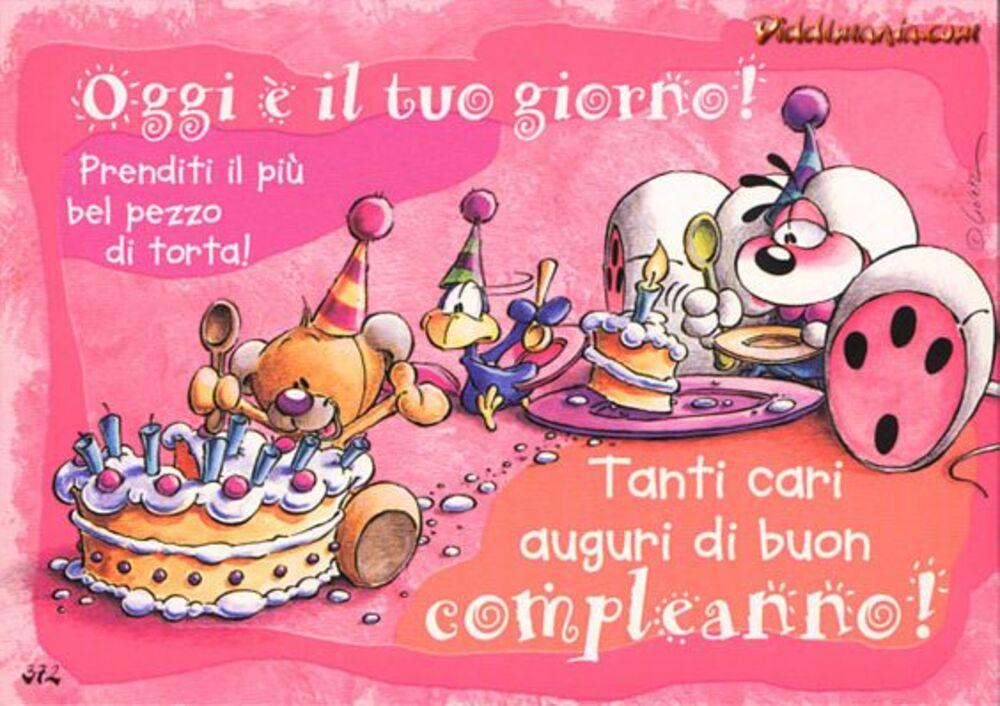 Cartoline di buon compleanno Diddl
